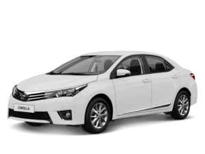Toyota Corolla AT NEW Белый
